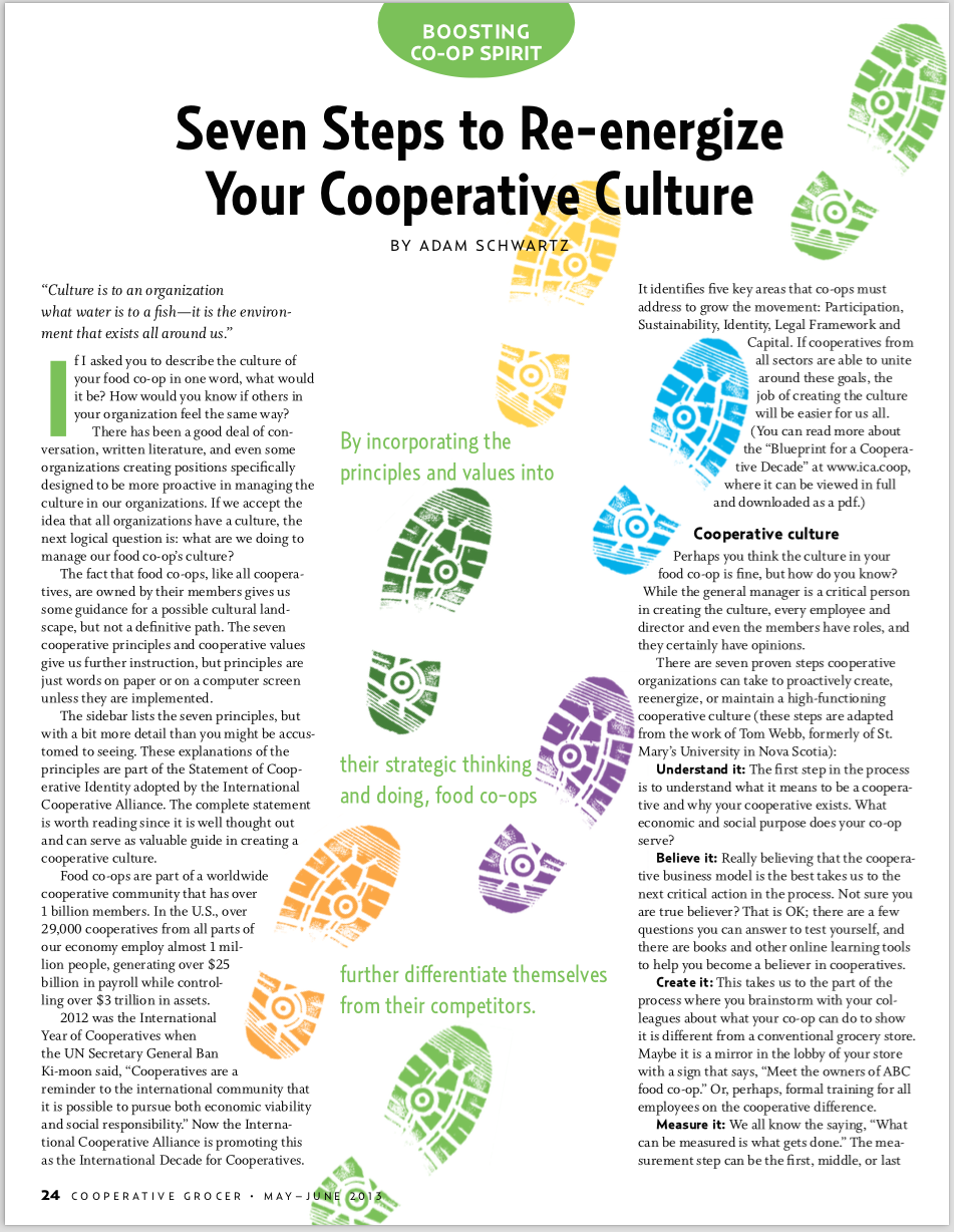 7 Steps to Re-Energize Your Cooperative Culture